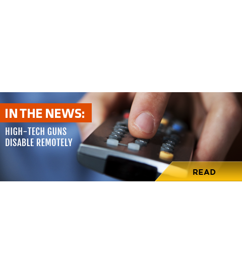 With High-Tech Guns, Users Could Disable Remotely